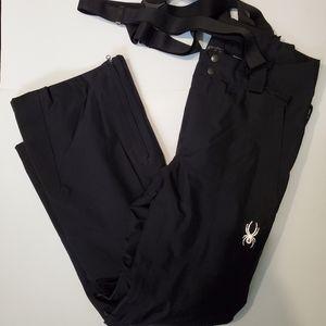 Spyder Men's Sentinel Ski Pants Black New Without Tags